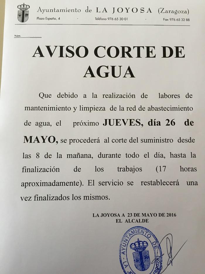 CorteAgua