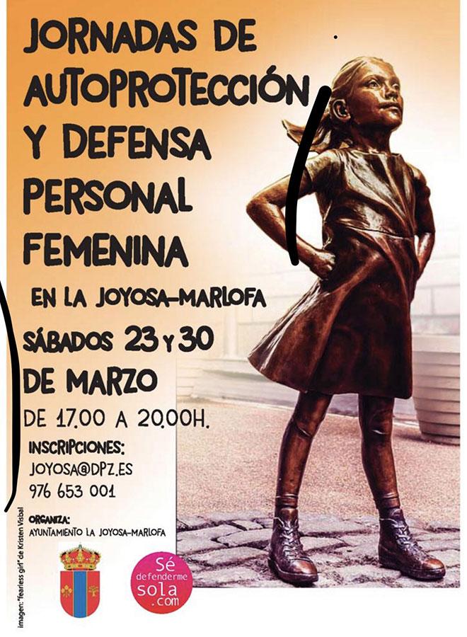 Curso defensa personal femenina